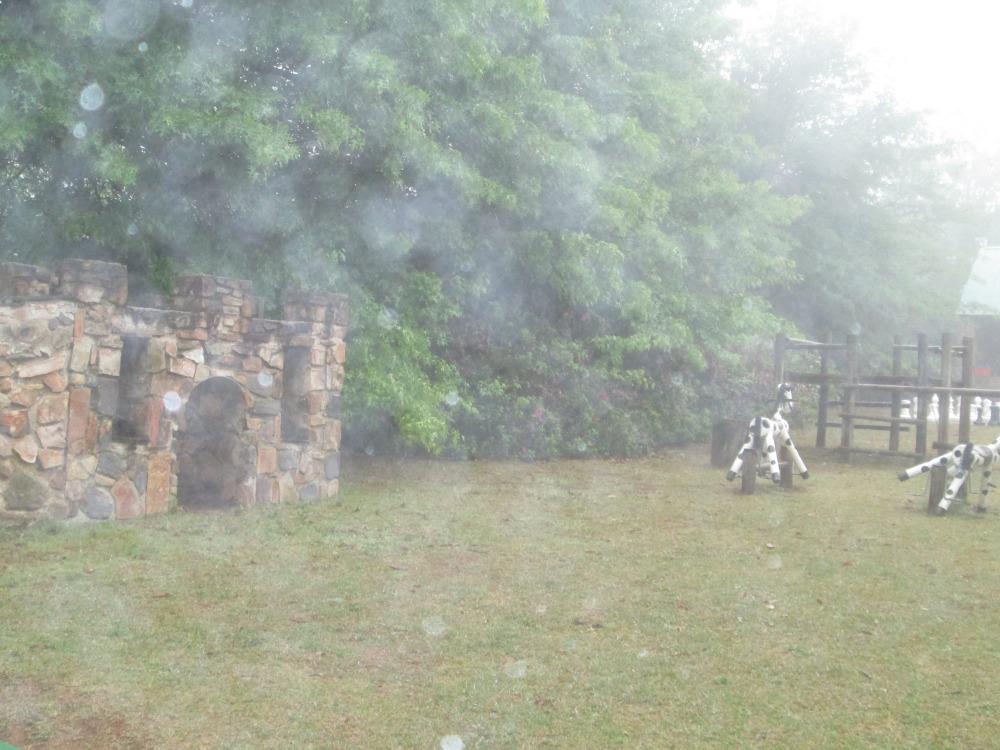 Misty mountain playground