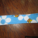 Easter Bag handle stitching