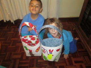 Easter Fabric Bags