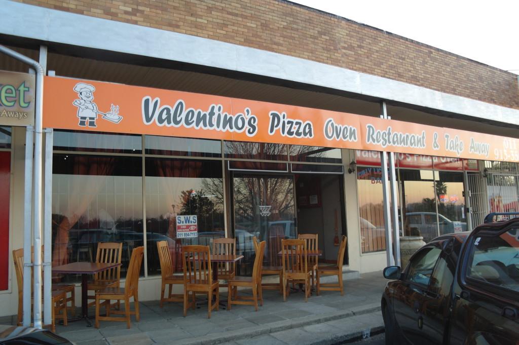 Valentino's Pizza Oven