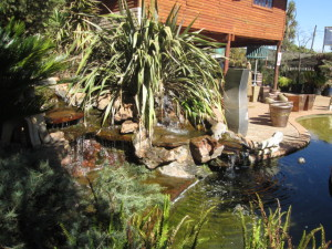 Golden Rod water feature