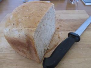Ma baker brown bread loaf