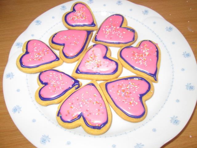 Stork Custard Cookies