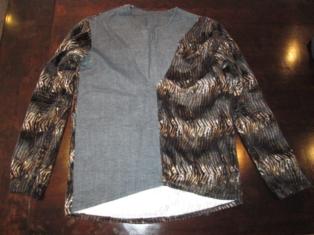 Shirt designed and made by Nkani