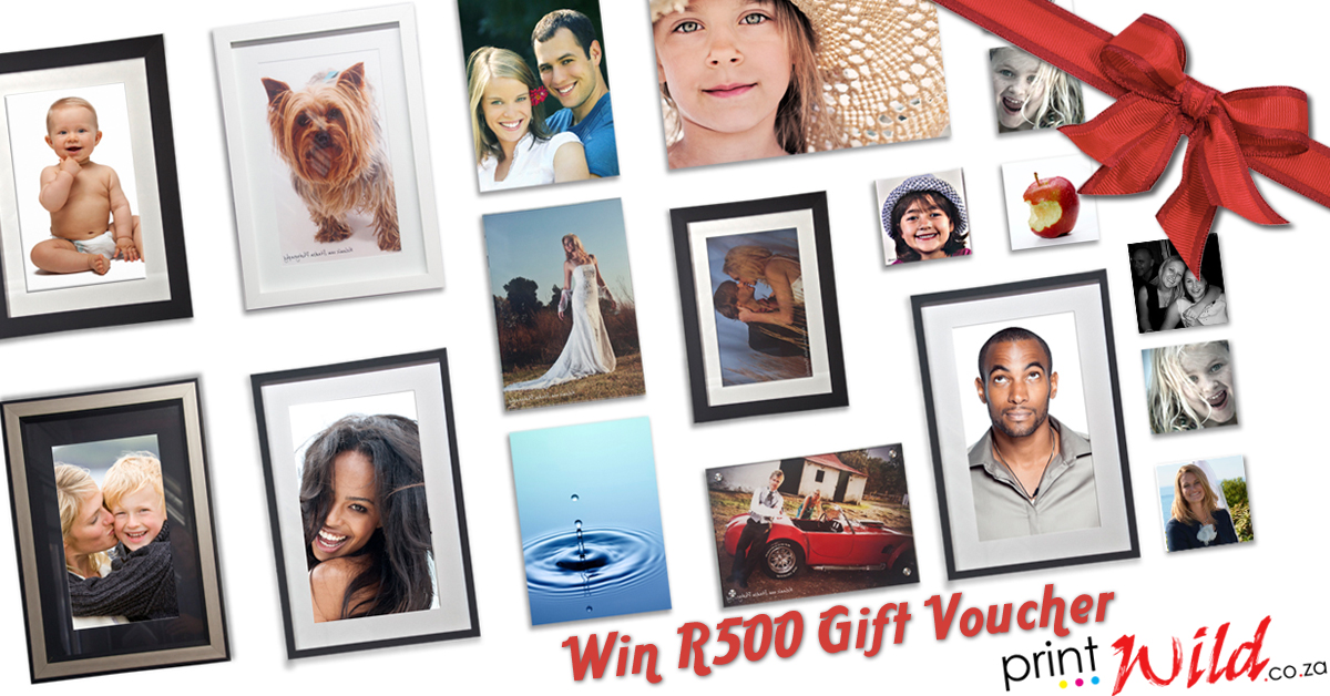 Win a R500 voucher from Printwild