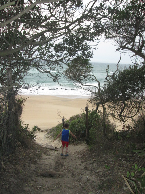 Umhlanga Nature Reserve beach