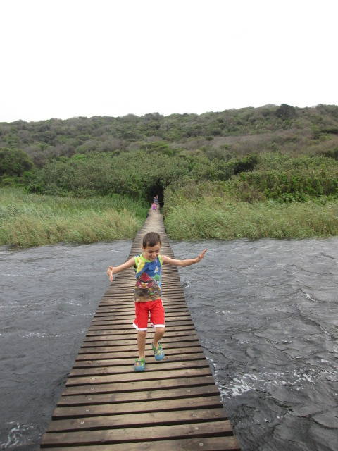 Umhlanga Nature Reserve - Lagoon walkway