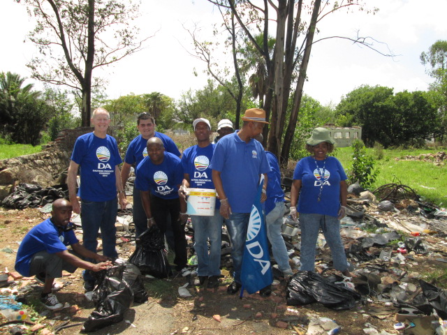 Boksburg branch East 32 clean up
