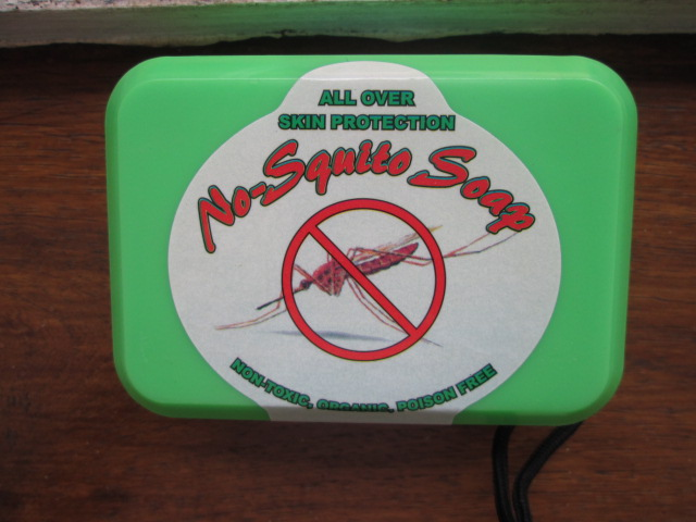 Mozzie repellent soap