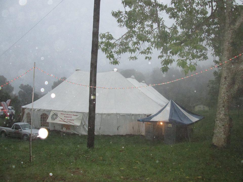 Uncle Jumbo's tent