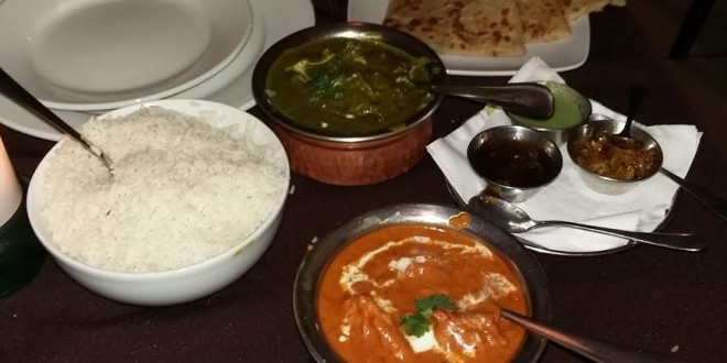 Date night at Masala Indian Restaurant in Boksburg