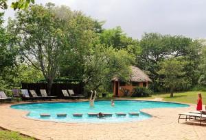 Hilltop pool