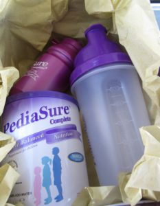 Thank you PediaSure for the gift box