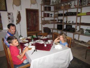 Supper at Die Eetplek