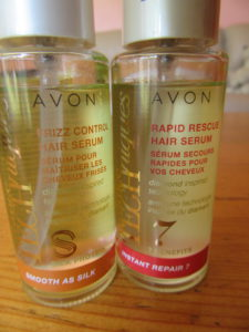 I bought 2 Avon hair treatments and both seem very nice.  My hair is no longer frizzy and feels lovely and smooth.  I can't really tell the difference between results from 'Smooth as Silk' and 'Instant Repair 7'