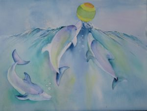 dolphins-with-ball-41-x-31-r880